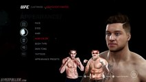 EA Sports UFC Career Mode #1 - How To Create The Best UFC Fighter!
