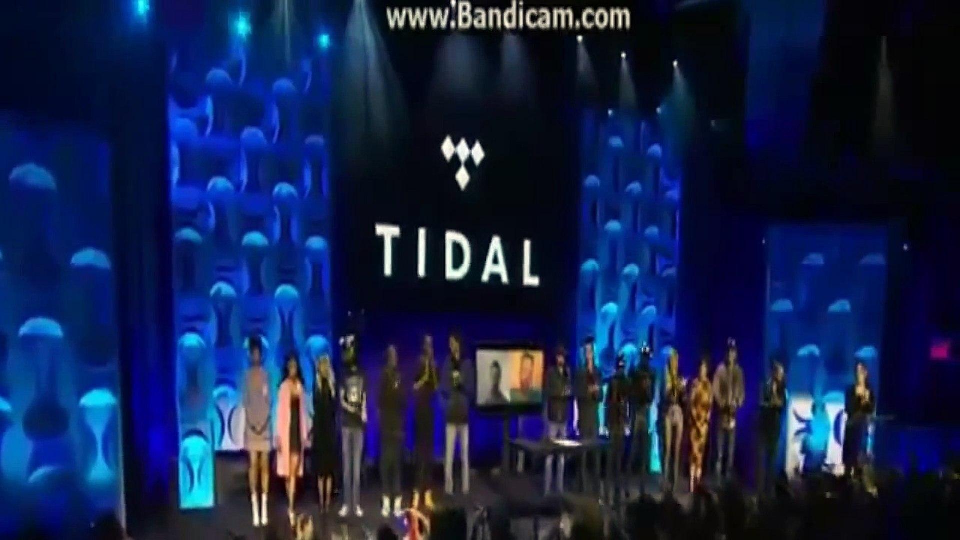 Tidal Press Conference !!! Jay z , Rhianna ,Beyonce , Daft Punk Tidal Press Conference 2015 #tidal