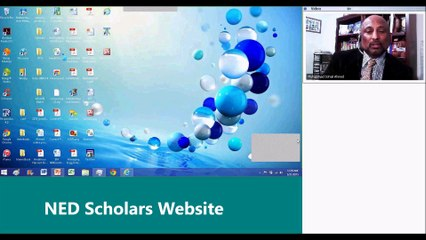 NED Scholars - WEBSITE
