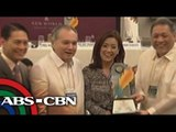 Rotary Club awards media members of ABS-CBN