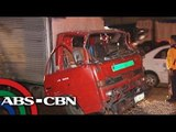 1 injured from truck collision