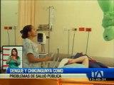 Casos de chicungunya y dengue son tratados como un problema de salud pública