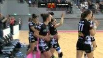 Handball fem : Brest Bretagne vs Chambray Touraine (34-25)