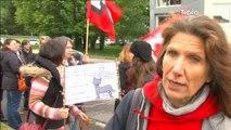 Réforme du collège : Manifestation des professeurs à Quimper