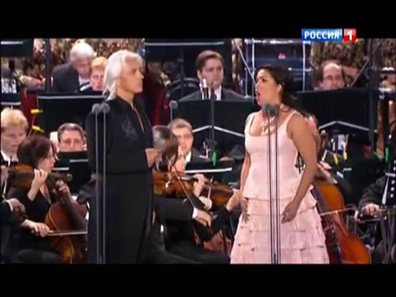 Анна Нетребко и Дмитрий Хворостовский.Финал оперы Евгений Онегин.