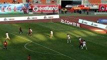 Chine - Il marque pendant que le goal se rafraîchit