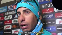 Giro dItalia 2015 - stage 14: Alberto Contador and Fabio Aru post race interview