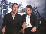 Robert Downey Jr, Jude Law and Guy Ritchie Interview for SHERLOCK HOLMES