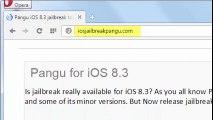 Comment faire pour installer iOS 8.3 Jailbreak Untethered iPhone 6 Plus et iPad / iPod Evasi0n ios 8 la preuve de