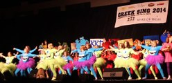 University of Kentucky Greek Sing 2014 Kappa Kappa Gamma