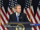 David Letterman - Top ten George W. Bush moments