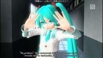 [60fps Miku KAITO] ローリンガール Rolling Girl - Hatsune Miku 初音ミク カイト Project DIVA English romaji lyrics