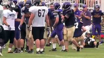 Sights & Sounds of Warrior Football Training Camp