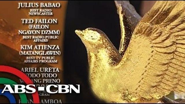 ABS-CBN wins big at KBP Golden Dove Awards