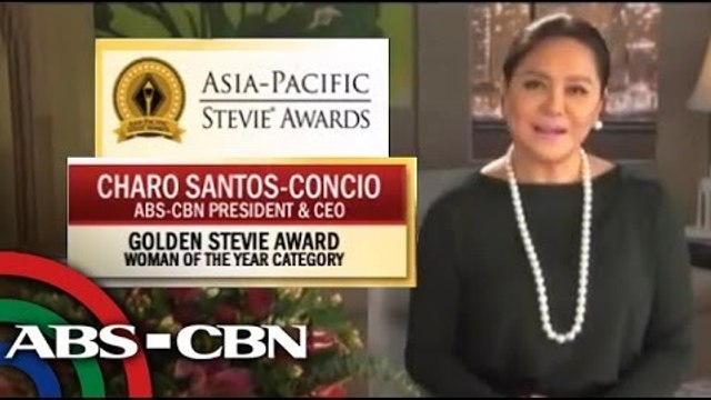 ABS-CBN, Charo Santos win at Asia Pacific Stevie Awards