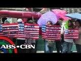 Filipino Activist protest on Obama's visit