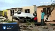 Mexique : des dégâts impressionnants après une tornade