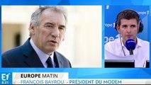 """François Bayrou : """"L'Europe, c'est nous"""""""