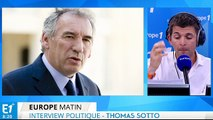 """Bayrou : """"L'Europe doit mener une réflexion sur elle-même"""""""
