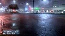 Etats-Unis : inondations, orages violents et mini-tornades frappent le Texas et l'Oklahoma