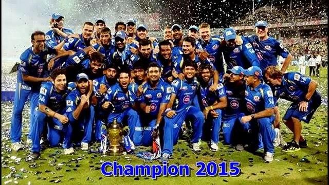 MI Won by 41 Runs -- CSK vs MI IPL 2015 Final Chennai Super Kings vs Mumbai Indians Wins IPL 8 Title