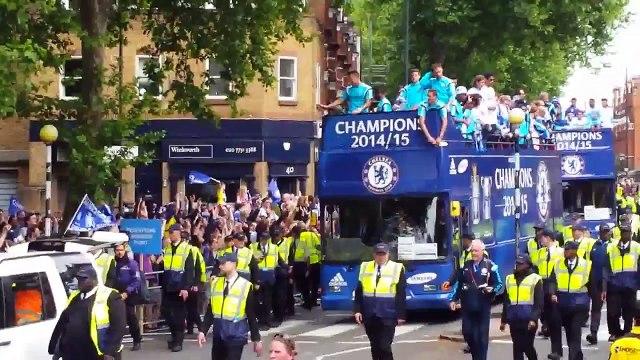 Chelsea Barclays Premier League Champions 2014/15 (Short video)