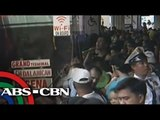 Araneta Bus Station Cubao bustles with passengers