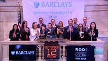 Barclays Celebrates Barclays Return on Disability Exchange Traded Note