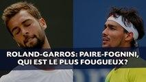 Roland-Garros: Paire-Fognini, qui est le plus fougueux?