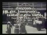 Immigrant Ship Arriving at Ellis Island