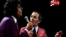 CHARLES AZNAVOUR & ENRICO MACIAS – talking and singing, french, jiddisch, others… (HD)