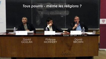 Tous pourris - même les religions ? questions