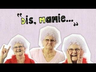 Dis Mamie Lucienne  # 1
