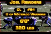 Joel Reinders 2010 CFL draft prospect