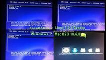Linux vs Window vs Ma OS X vs FreeBSD