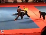 Super Chines girl fight with four man at a time, wow amazing must watch