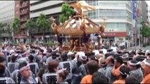 花園神社例大祭_本社神輿渡御(雷電神輿)