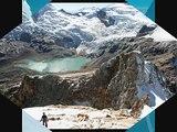 Nevados y glaciares de la Cordillera Blanca - Mountains of Perú
