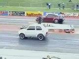 Fiat Polski vs Porsche 911