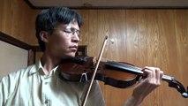 童謡 里の秋 バイオリン children's song satonoaki autumun in village violin japan