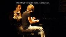 "Chilly Gonzales, Kaiser Quartett and the ""not so schlechte"" Thomas"