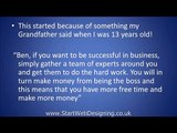 Work At Home Outsourcing Website Design Business Video