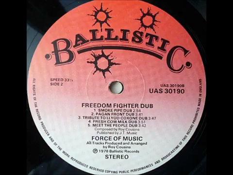 ReGGae Music 408 – LP Force Of Music (Freedom Fighter Dub) – Smoke Pipe Dub [Ballistic]