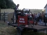 Engine Blow Contest at McTurners Summer SBC Bash Blowing Up