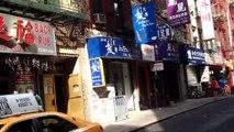 Chinatown in New York City, New York, USA. 08-2015