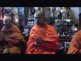 Thai Monks Chanting Bless Buddha Shop Yackandandah  November 2010 Pali Chanting