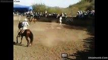 SUPER FAIL Y EL JARIPEO DE RANCHO CON UNA MUY BUENA MONTA LA CHARRERIA EN MEXICO JINETE VS TORO SALVAJE AGOSTO 2015