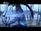 VELTOP +  VERSION FRANCAISE Protection pour cyclistes