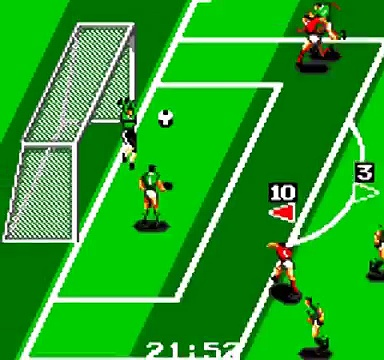 Retrogaming Fifa World Cup 2014 : Belgium Algeria (World Cup Soccer Game Gear)
