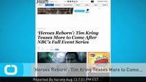 'Heroes Reborn': Tim Kring Teases More to Come...
